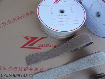 China Silver Fiber Conductive Hook And Loop Tape Roll For Marine / Medical Requirements supplier