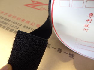 China Nylon Elastic Hook Loop Fastener Tape Customize Color For Sports Equipment supplier